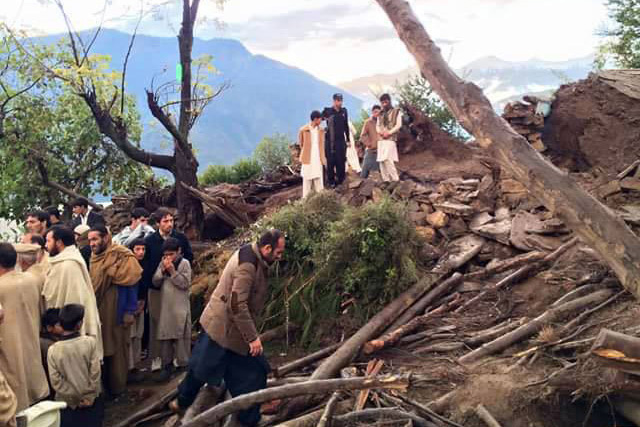 FAO helps Pakistan cope with natural disasters such as floods, quakes, droughts