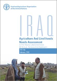 Iraq Agriculture and livelihoods needs assessment