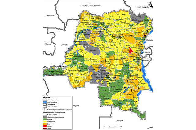 IPC Map of DR Congo - June 2016 : FAO in Emergencies
