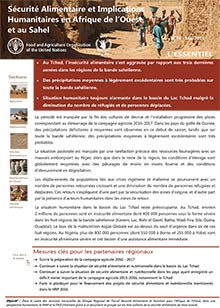 Food security and humanitarian implications in West Africa and the Sahel - FAO/WFP Joint Note, May 2016