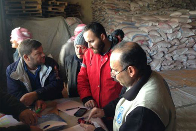 Emergency agricultural input support to vulnerable farmers affected by the crisis in Syria