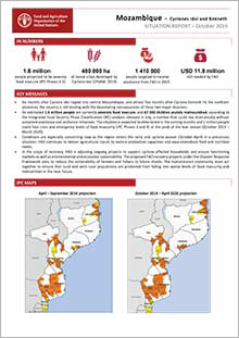 Mozambique - Situation report October 2019