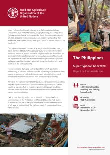 The Philippines – Super Typhoon Goni 2020