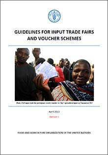 Guidelines for Input Trade Fairs and Voucher Schemes