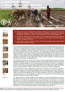 Food Security and humanitarian implications in West Africa and the Sahel - FAO/WFP Joint Note, December 2014-January 2015 (in FRENCH)