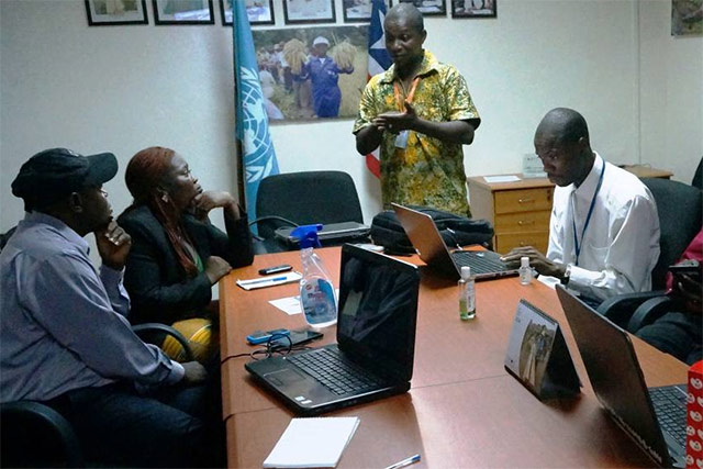 FAO provides EpiCollect data collection technology training for use in fight against Ebola (en ANGLAIS)