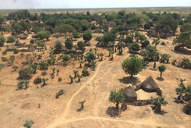 Nyal, Payinjiar County of Unity State, a state that has been badly affected by the recent fighting in South Sudan