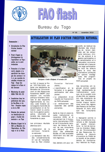 FAO Flash Togo - N. 3, novembre 2010
