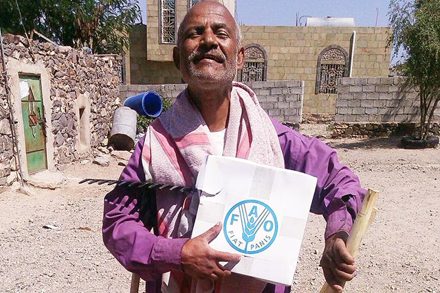 FAO appeals for USD 25 million against the Yemen Humanitarian Response Plan for 2016