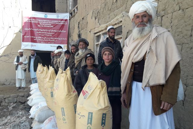 Afghanistan | FAO and Belgium assist food-insecure farming households impacted by the shock of COVID-19