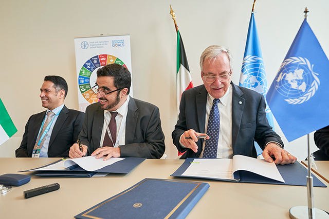 FAO and leading Islamic charity group to work together to build resilience of vulnerable populations
