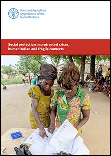 Social protection in protracted crises, humanitarian and fragile contexts
