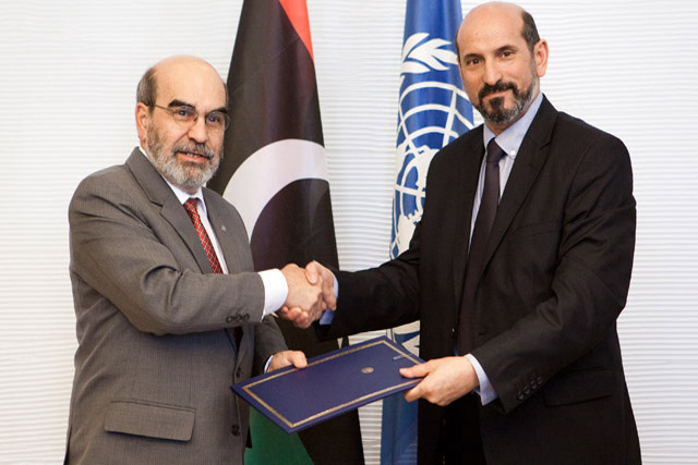 Agreement between FAO and Libya is signed in Rome