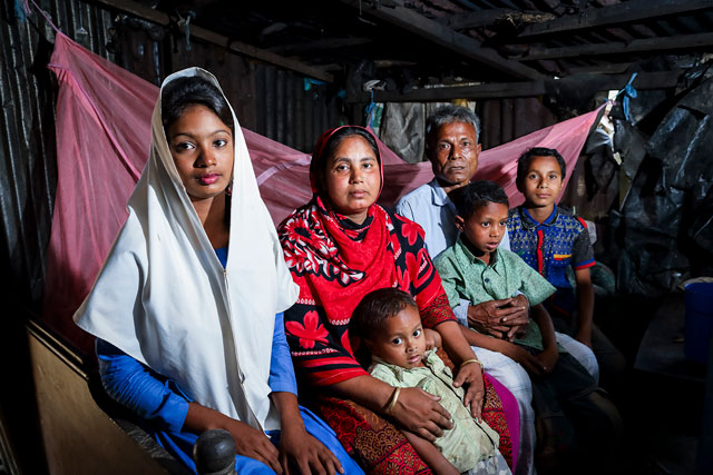 Emergency food security and nutrition intervention for people affected by the refugee crisis in Cox's Bazar