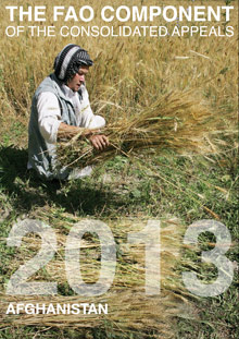 The FAO Component of the Consolidated Appeals 2013: Afghanistan