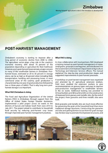 Zimbabwe: Post-harvest Management