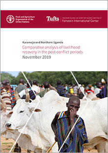 Comparative analysis of livelihood recovery in the post-conflict periods – Karamoja and Northern Uganda