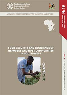 Food security and resilience of refugees and host communities in south-west Uganda