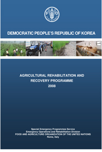Democratic People's Republic of Korea: Agricultural Rehabilitation and Recovery Programme 2008