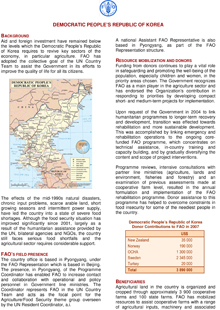 Democratic People's Republic of Korea: Special Emergency Programmes Service, November 2007