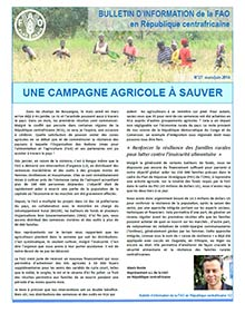 FAO CAR - Information bulletin March-June 2014 (in FRENCH)