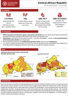 Central African Republic - Situation report 13 June 2016