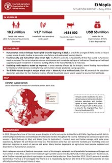 Ethiopia Situation Report - May 2016
