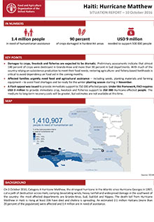 Haiti: Hurricane Matthew - Situation report 10 October 2016