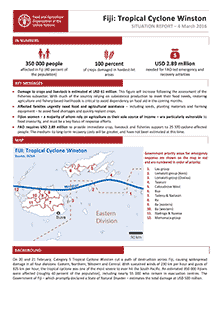 Fiji Tropical Cyclone Winston Situation Report - 4 March 2016