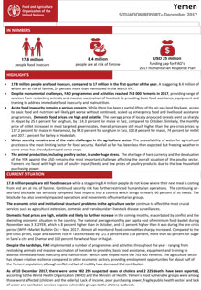 Yemen - Situation report December 2017