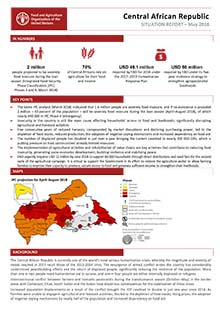 Central African Republic - Situation report May 2018