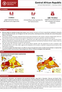 Central African Republic - Situation report October 2016