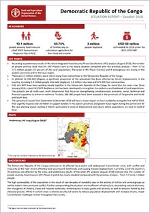 Democratic Republic of the Congo - Situation report October 2018