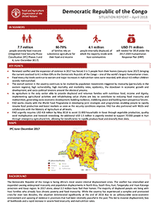 Democratic Republic of the Congo - Situation report April 2018