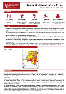 Democratic Republic of the Congo - Situation report October 2019