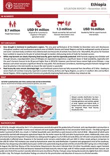 Ethiopia - Situation report November 2016
