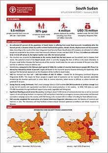 South Sudan - Situation report January 2020