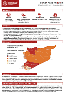 Syria Crisis - Situation report December 2016