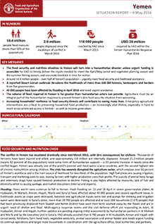 Yemen crisis - Situation report 9 May 2016