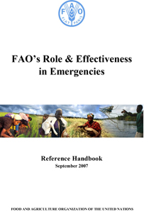 FAO's Role & Effectiveness in Emergencies