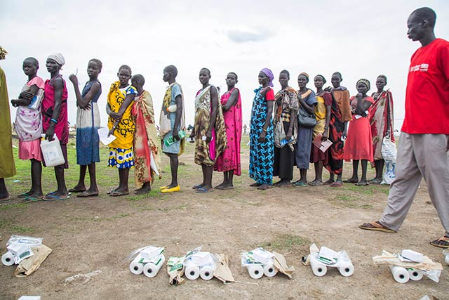 FAO and WFP heads visit famine-stricken South Sudan