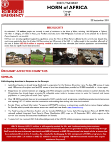 Horn of Africa Drought - Executive Brief 22 September 2011