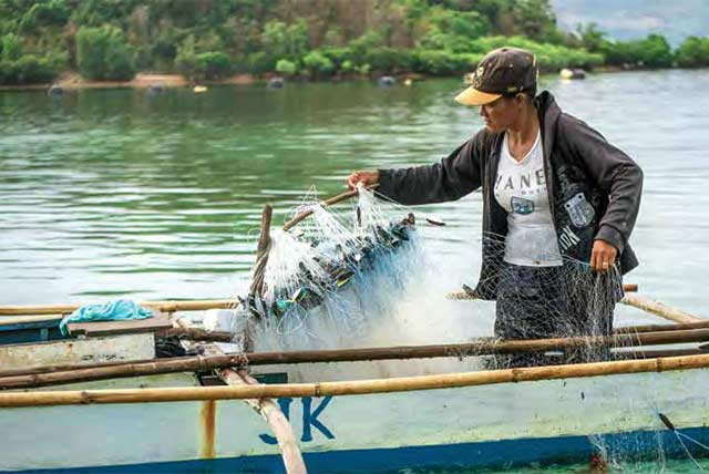 Restoring the livelihoods and food supply of farming and fishing families in the Philippines