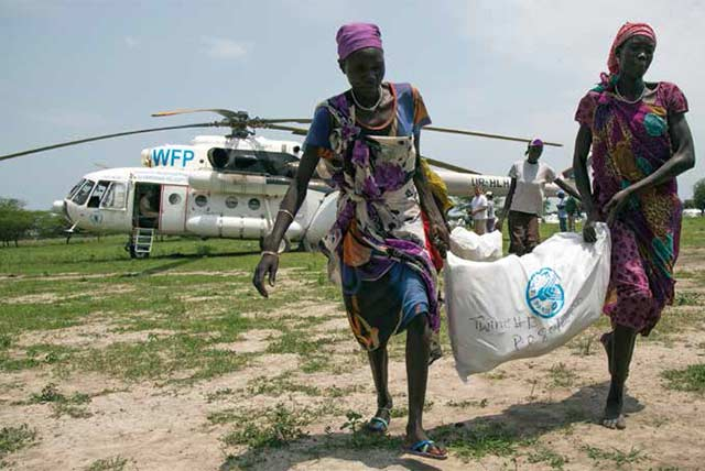 South Sudanese trapped or displaced by fighting received livelihoods support
