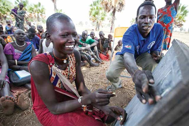 Pastoralists in South Sudan are learning on the move