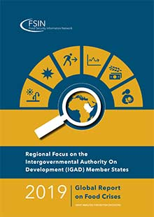 2019 Global Report on Food Crises - Regional Focus on the Intergovernmental Authority On Development (IGAD) Member States