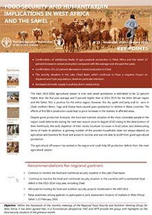 Food security and humanitarian implications in West Africa and the Sahel - FAO/WFP Joint Note, December 2015 - January 2016