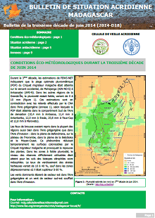 Madagascar - Locust situation bulletin D18 - June 2014 (in FRENCH)