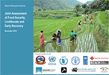 Nepal Joint Assessment on Food Security, Livelihoods and Early Recovery – Final report