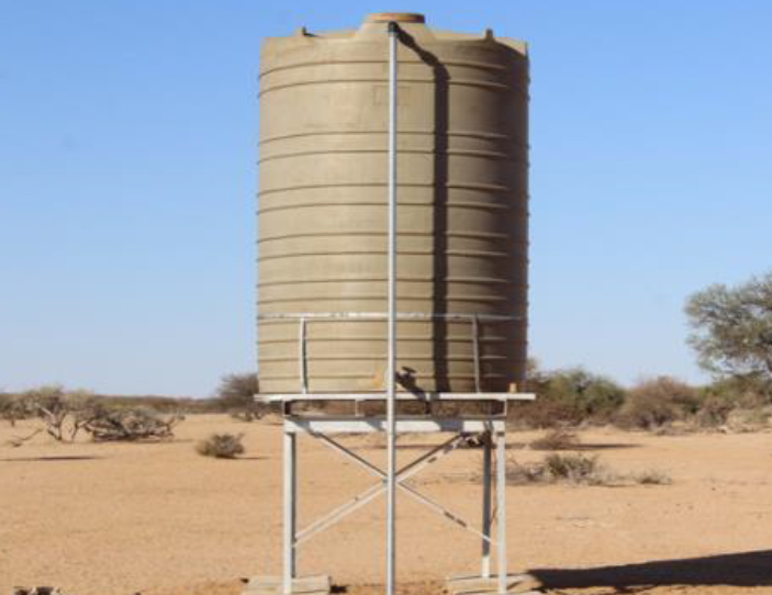 Increase water access through improved infrastructure in the Republic of Namibia